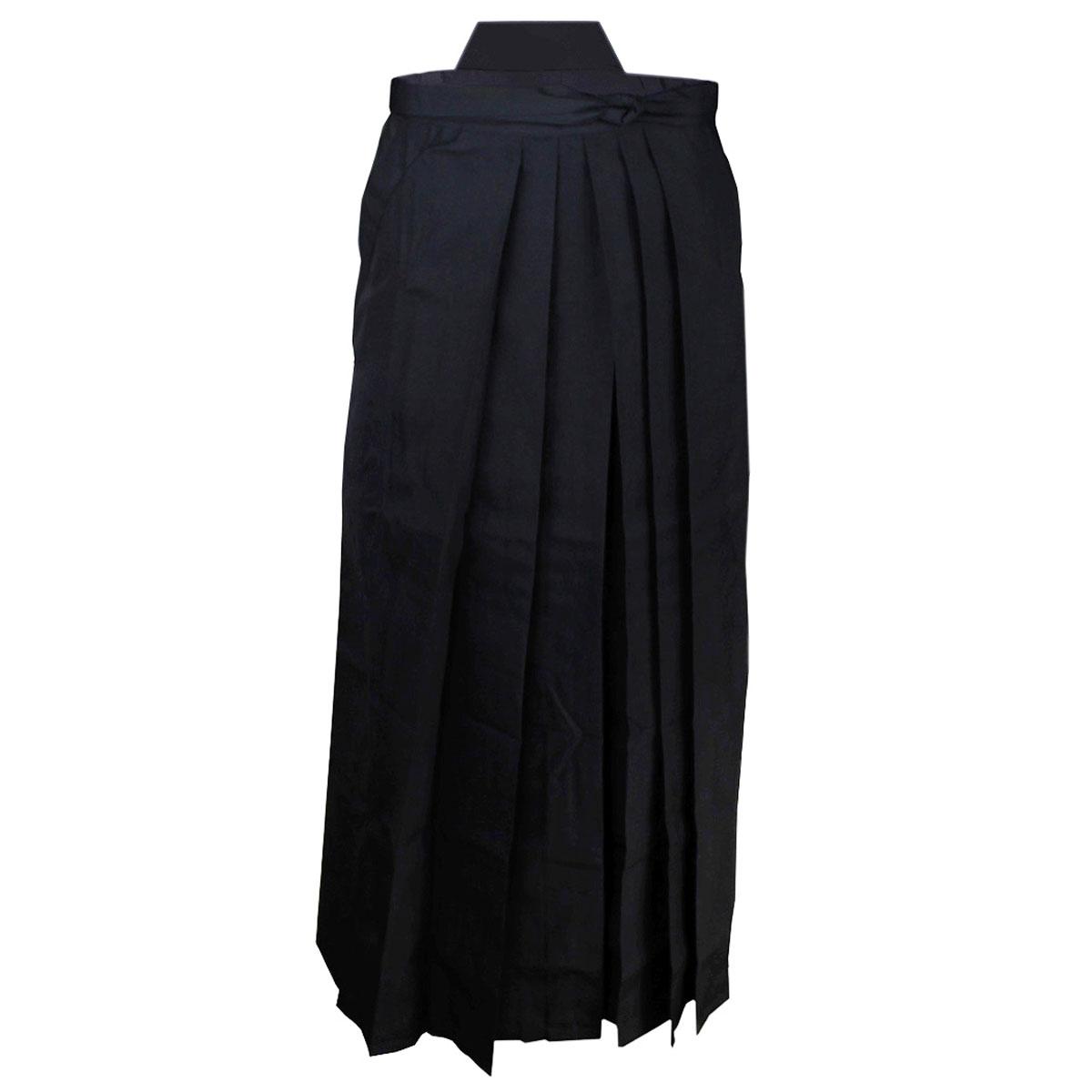 hakama schwarz verschiedene gr en aikido iaido kendo. Black Bedroom Furniture Sets. Home Design Ideas