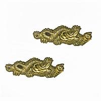 Menuki-Satz für Samuraischwert, Motiv: Drachen