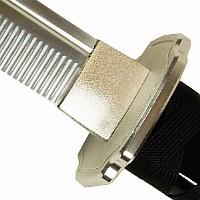 Iaito Samuraischwert - stumpfe Klinge aus Aluminium-Zink-Legierung