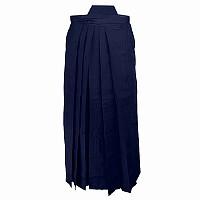 Hakama, blau, aus maschinenfestem Mischgewebe