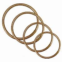 Kung Fu Ring aus Rattan, 4 verschiedene Größen