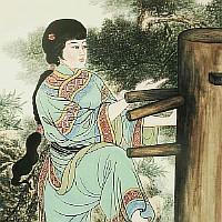 Poster: Yim Wing Tsun, Namensgeberin des Wing Tsun