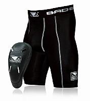 Bad Boy Compression Shorts mit Tiefschutz