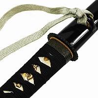 Schwarzes Hamidashi Tanto mit Klinge aus 1095 Stahl