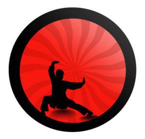 Kunststoff Kung Fu Ringe